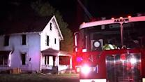 Raw: First Akron fire