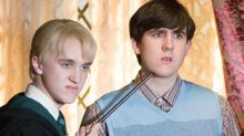 Tom Felton tries to convert Matthew Lewis to Slytherin in Harry Potter reunion