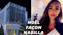 Pour Noël, Nabilla a littéralement habillé sa maison de décorations
