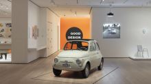 Fiat 500 in the Spotlight at the Museum of Modern Art in New York
