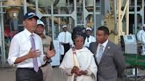 President Obama Visits Addis Ababa's Faffa Food Factory