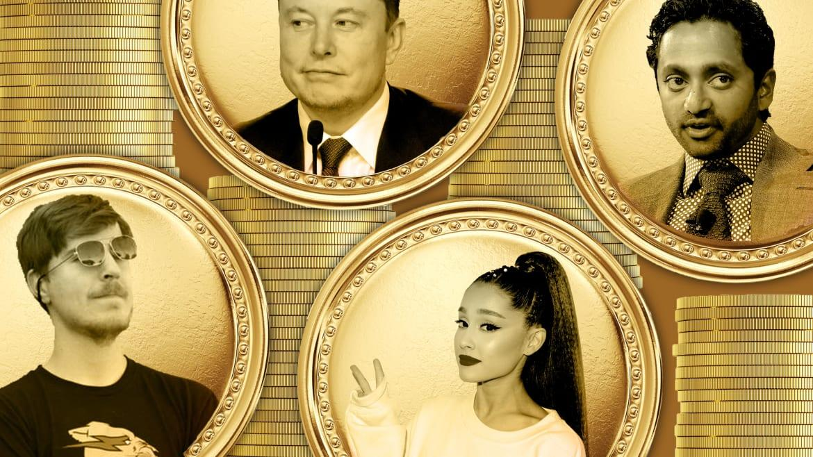 The Shady Crypto Startup Selling 'Shares' in Celebs