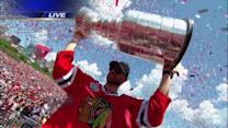 Blackhawks parade, rally draws more than 2 million to celebrate Stanley Cup win
