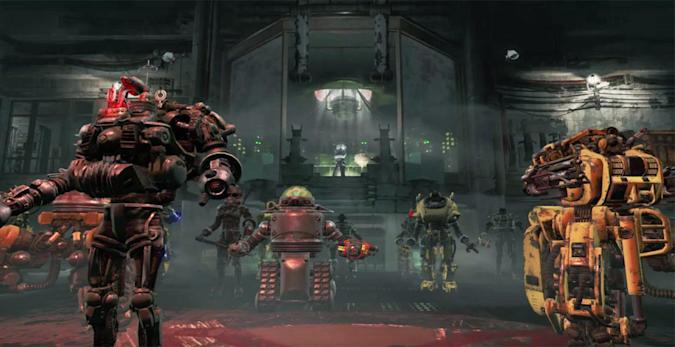 'Fallout 4's' first DLC trailer is big on killer robots
