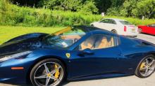 Dejó su Ferrari en un valet parking y se lo devolvieron destrozado