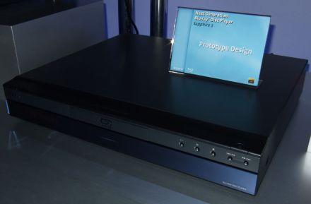 "Sony displays prototype ""Sapphire"" second-gen Blu-ray players"