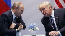 The Latest: Trump defends call congratulating Putin