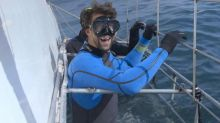Michael Phelps on preparing for his race against great white shark
