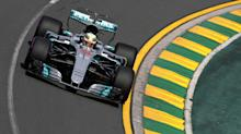 Lewis Hamilton fastest in Melbourne F1 practice as Mercedes show early pace