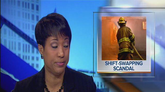 5pm: 13 firefighters indicted without pay