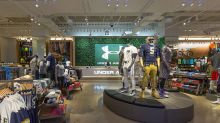 Under Armour stock sinks 18% as challenges include a North American turnaround and coronavirus