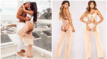 Chaps-artige Hosen sind der neueste schräge Modetrend