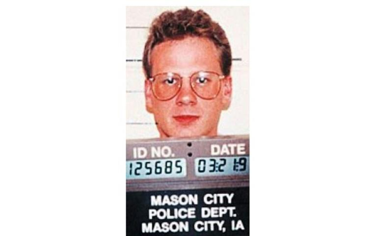 A 1993 file photo of Dustin Lee Honken, who was executed after being convicted of five murders (AFP Photo/-)