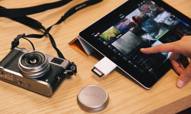 500px iOS app finally lets photographers upload their work on the go