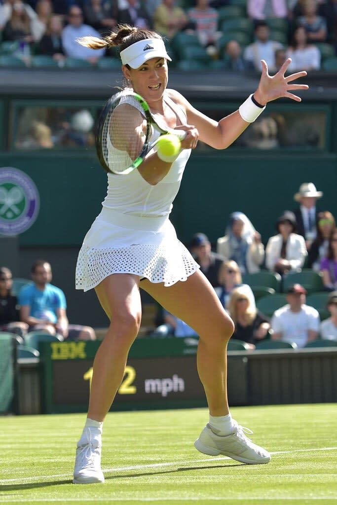 Algún día Investigación idea  Rising Adidas Star Garbine Muguruza Beats Venus Williams to Win Wimbledon  Title