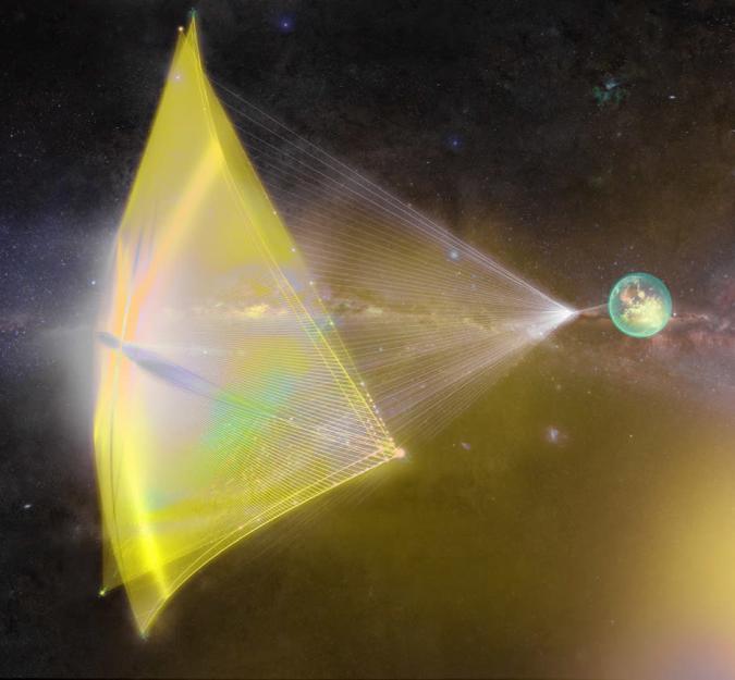 Project Starshot: Investorgruppe will Raumsonden zu Alpha Centauri schicken