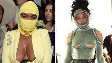 Kleiderpannen in der ersten Reihe bei der New York Fashion Week