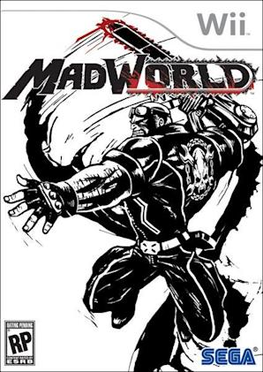 MadWorld boxart is simply awesome