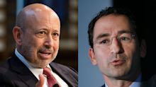 Blackstone's Epic Swap Trade Intrudes on Friendly Lunch With Blankfein