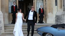 You can buy a copy of Meghan Markle's wedding reception dress for £3,500