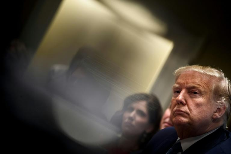 US President Donald Trump continues to have low popularity but the figures have improved during his impeachment probe