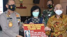 Rumah Keluarga Akidi Tio di Palembang Dijaga Polisi