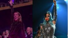 Celine Dion Reaches The Edge Of Glory At Lady Gaga's Las Vegas Show