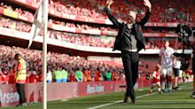 Arsene Wenger's Emirates farewell in pictures as Arsenal boss takes charge of final home game