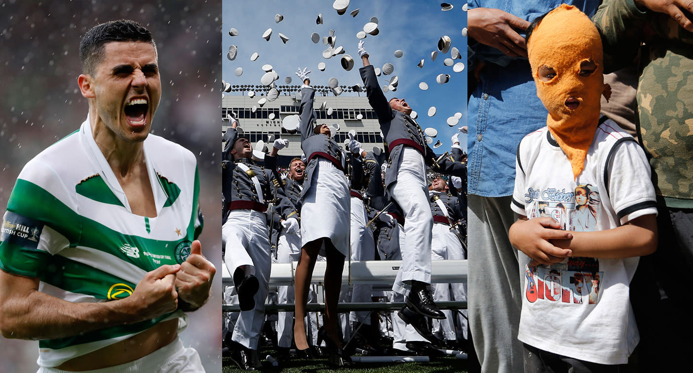 Soccer, West Point graduation, Kashmiri protests and more — it happened today: May 27 in pictures