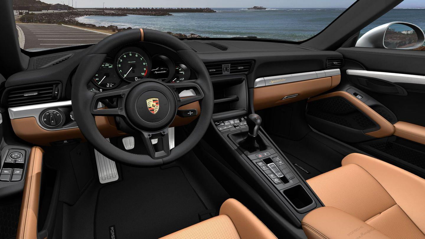 <p>To luxe things up a bit, I'd pay the almost $2500 to wrap the door panels and dashboard in leather; I'd also splurge on the aluminum pedals for $630 and grab dual-zone automatic climate control, which curiously doesn't require an additional fee-a rarity among Porsche options. </p>