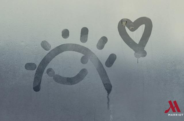 Marriott wants guests to save and share their shower door doodles