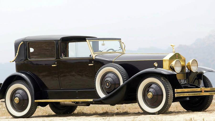 投資基金有賺有賠!命夠長的話Rolls-Royce Phantom骨董車根本是最佳投資標的!