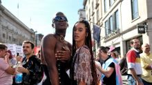 'It's the one day we're not outcasts': Hundreds parade through London for first ever Trans Pride march