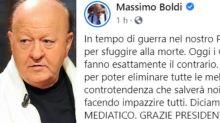 """Massimo Boldi invoca il presidente Mattarella: """"Diciamo basta al terrorismo mediatico"""""""