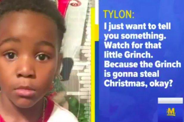 Christmas Crime-Stopper: 5-Year-Old Boy Calls 911 'Because