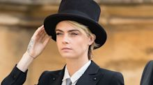 Cara Delevingne Asked Princess Eugenie's Permission to Wear That Suit to the Royal Wedding
