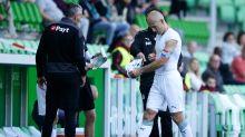 Robben blessé lors de son retour avec Groningen