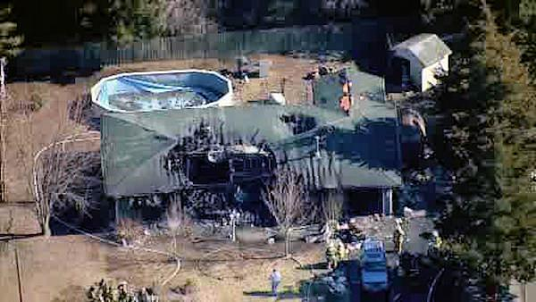 Little Egg Harbor home destroyed by fire