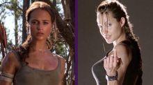 Alivia Vikander supera a Angelina como la nueva Lara Croft, pero solo en una cosa