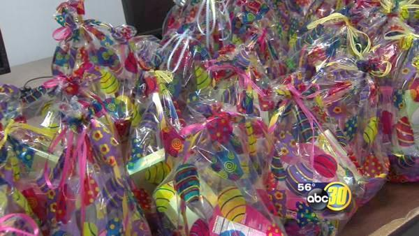 Easter event in Fresno puts smiles on kids' faces