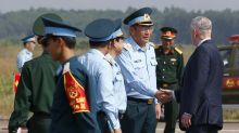 US defense secretary sees the enduring costs of Vietnam War