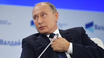 Putin: Russia 'ahead of competition' with weapons