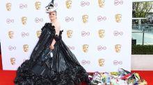Actress praised for wearing £5 bin bag dress to BAFTA TV Awards