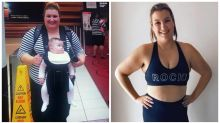 Aussie mum sheds 55kg after labour nearly killed her