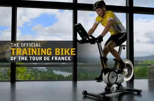 Google Maps-powered training bike simulates Tour de France, refuses to speak English