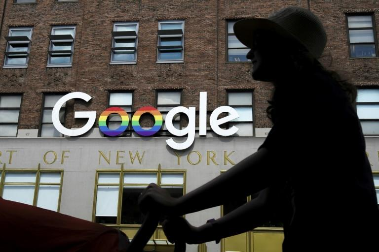 The earnings report of Google parent Alphabet eased fears the pandemic would devastate digital ad revenue that is the internet firm's income engine (AFP Photo/Drew Angerer)