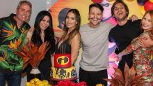Após nova polêmica, Gabi Brandt e Saulo Poncio aparecem juntos em festa