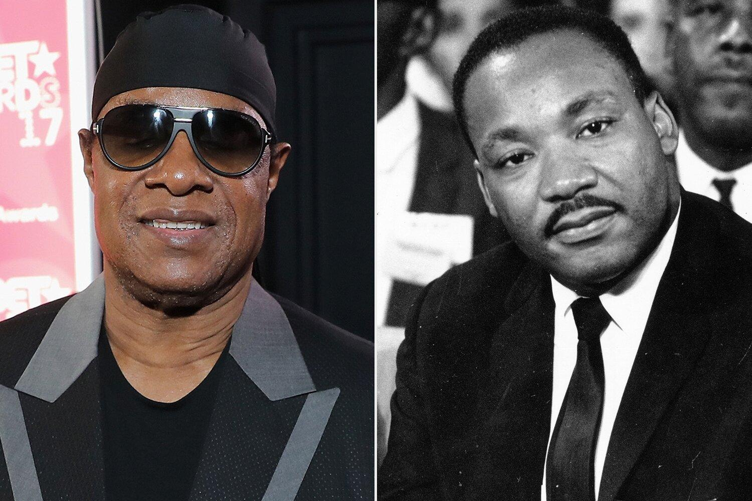 Stevie Wonder Pens Letter to Martin Luther King Jr. Criticizing 'Lack of Progress' in Equality