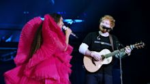 Beyoncé's duet with Ed Sheeran causes online debate about his less than 'Perfect' attire