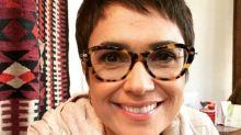 Sandra Annenberg sobre piadas das suas olheiras: 'Fiquei muito chateada'